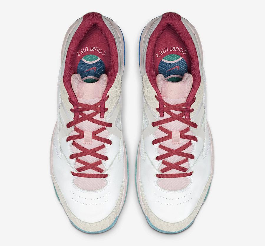 NikeCourt Court Lite 2 Pink Foam CJ6781-101 Release Info