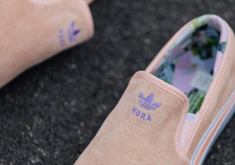 Nora Vasconcellos adidas Sabalo Slip-On G28975 Release Date