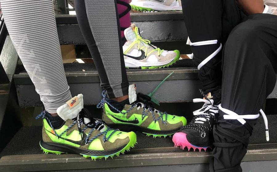 Off-White Nike Womens Running Shoe