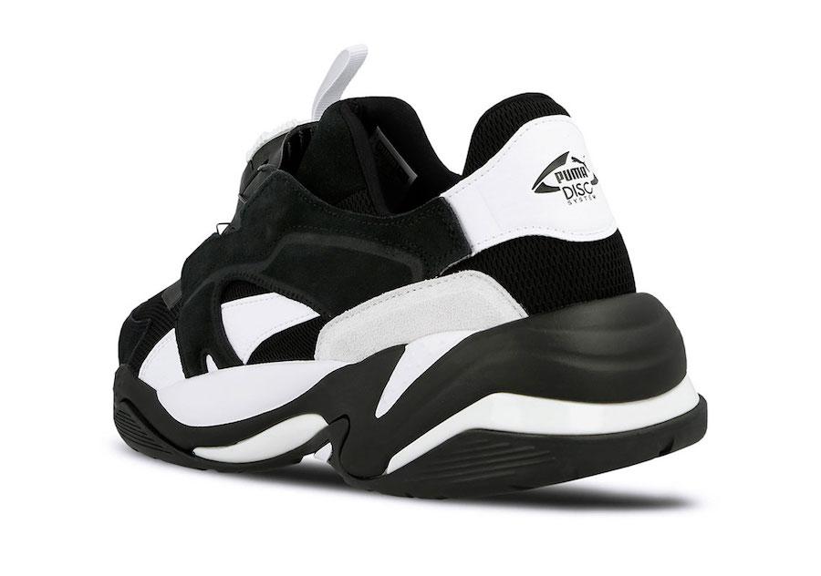 Puma Thunder Disc Black White Release Date