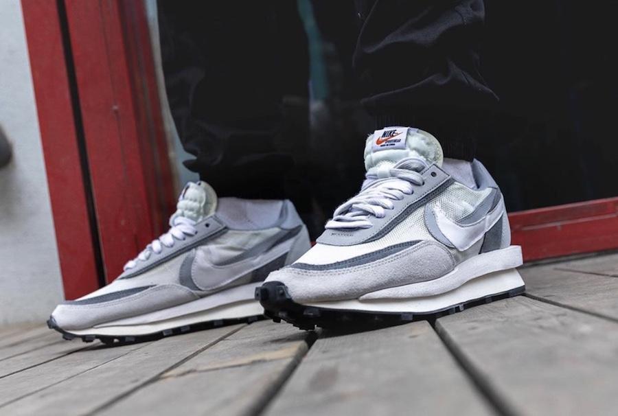 Coincidencia Comprensión picar  Sacai Nike LDV Waffle Grey BV0073-100 Release Info | SneakerFiles