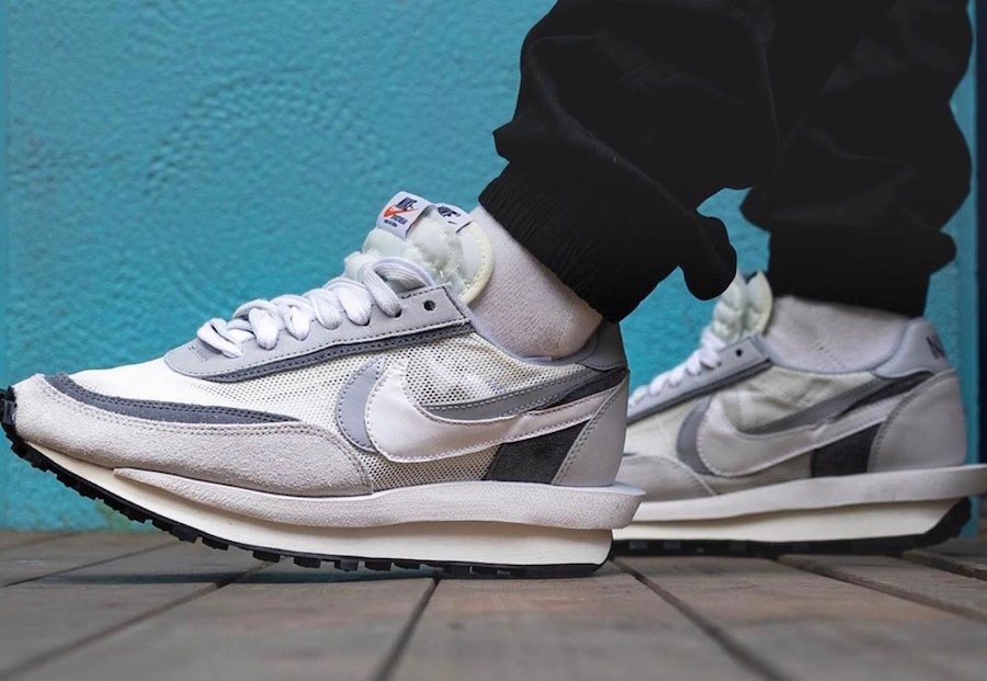 amazing price 100% authentic newest collection Sacai Nike LDV Waffle Grey BV0073-100 Release Info ...