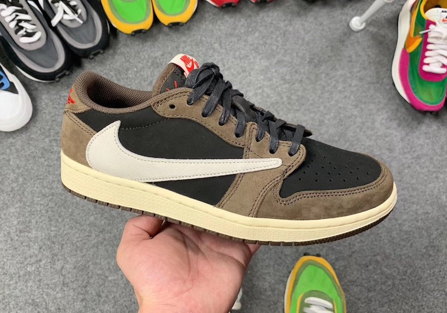 Travis Scott Air Jordan 1 Low CQ4277-001 Release Details