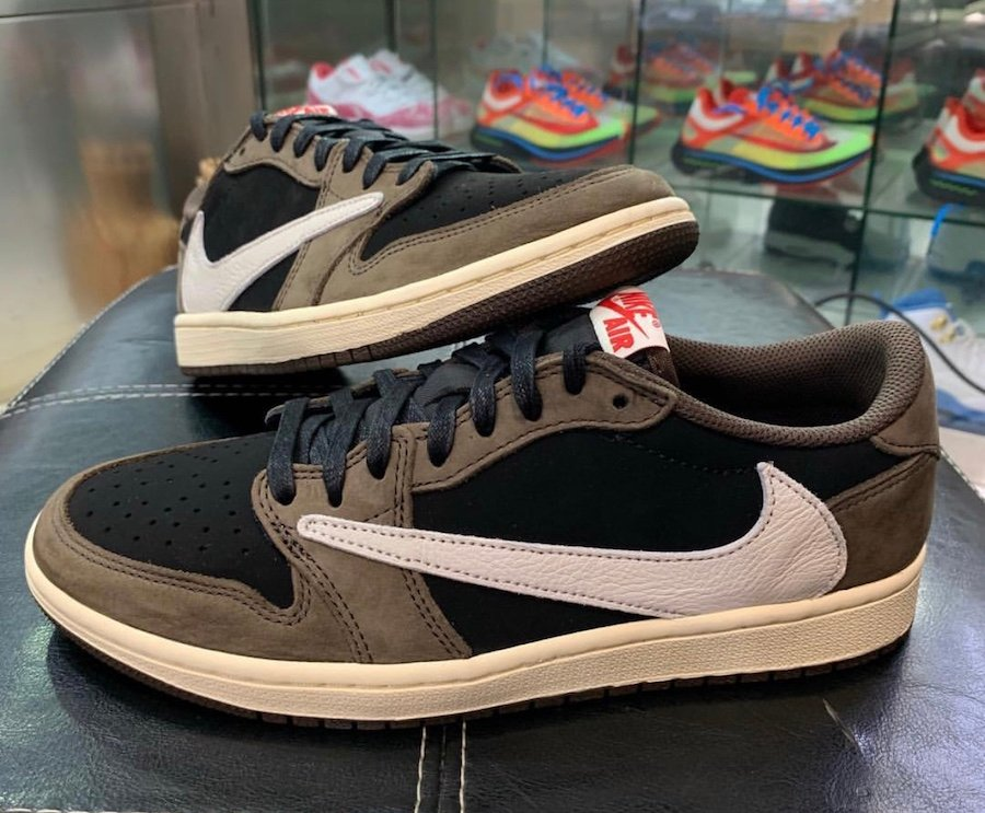 Travis Scott Air Jordan 1 Low Dark Mocha CQ4277-001 Release Info