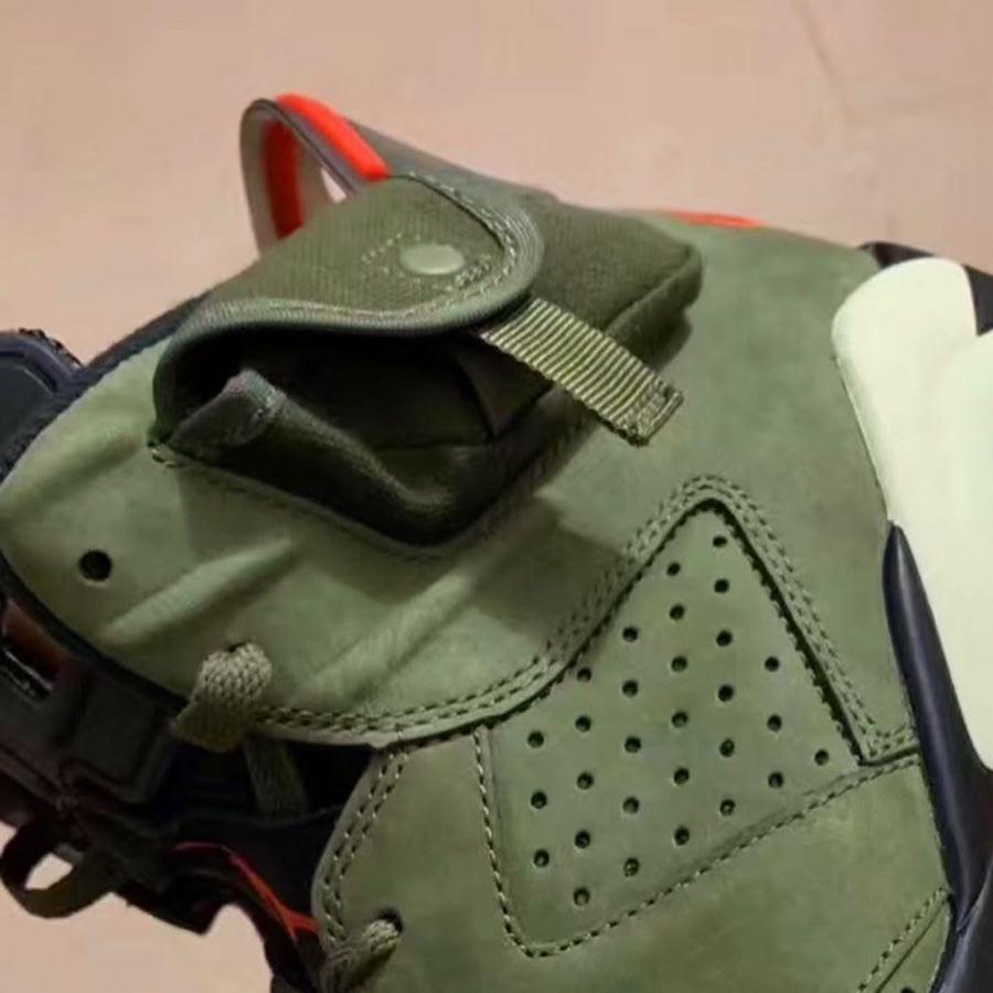 Travis Scott Air Jordan 6 Olive Release Info