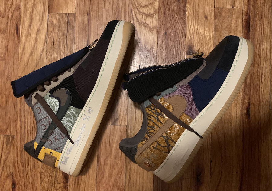How to Buy Travis Scott's Air Force 1 Collaboration PAST