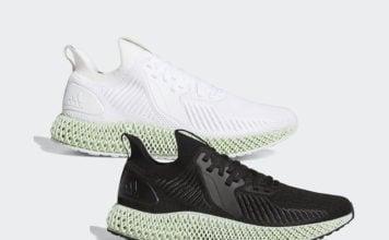 adidas AlphaEdge 4D Black EF3453 White EF3454 Release Info
