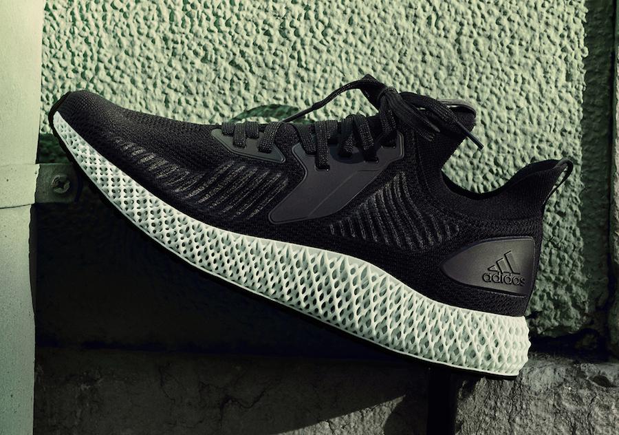 adidas Alphaedge 4D Black Release Info