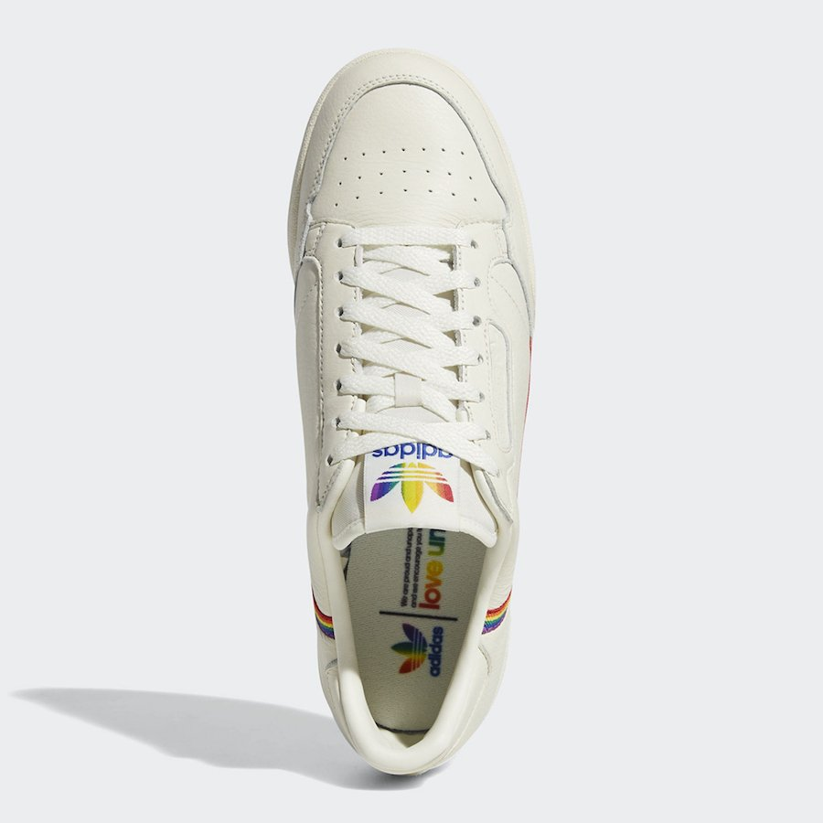 adidas Continental 80 Pride EF2318 Release Info