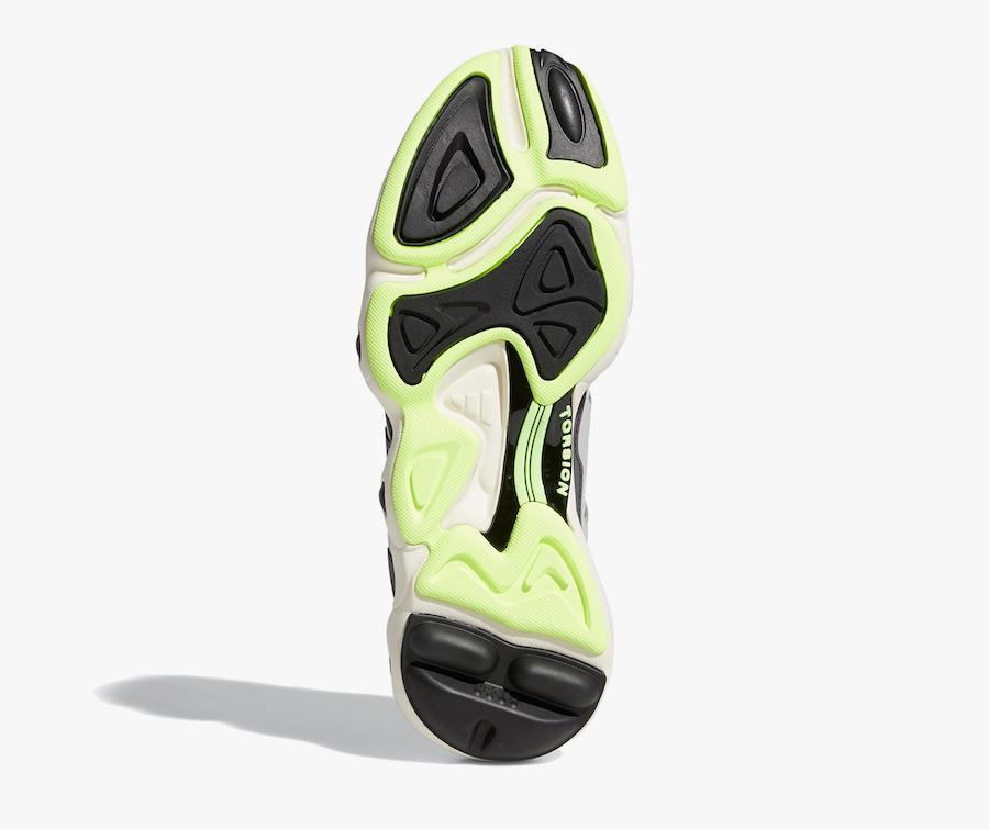 adidas FYW S-97 Light Grey Hi-Res Yellow EF5818 Release Info