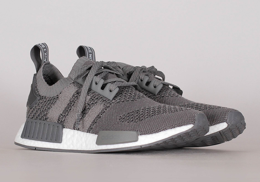 adidas NMD R1 Primeknit Ash Grey EE3650 Release Info