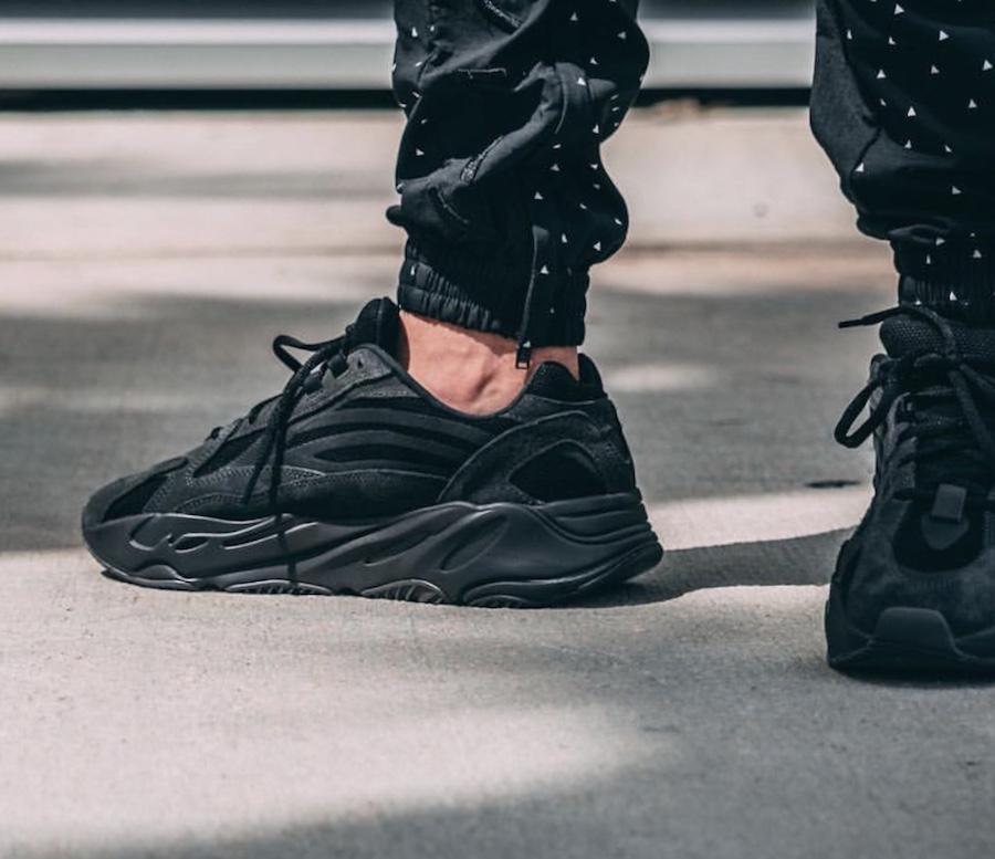 adidas Yeezy Boost 700 V2 Vanta On Feet
