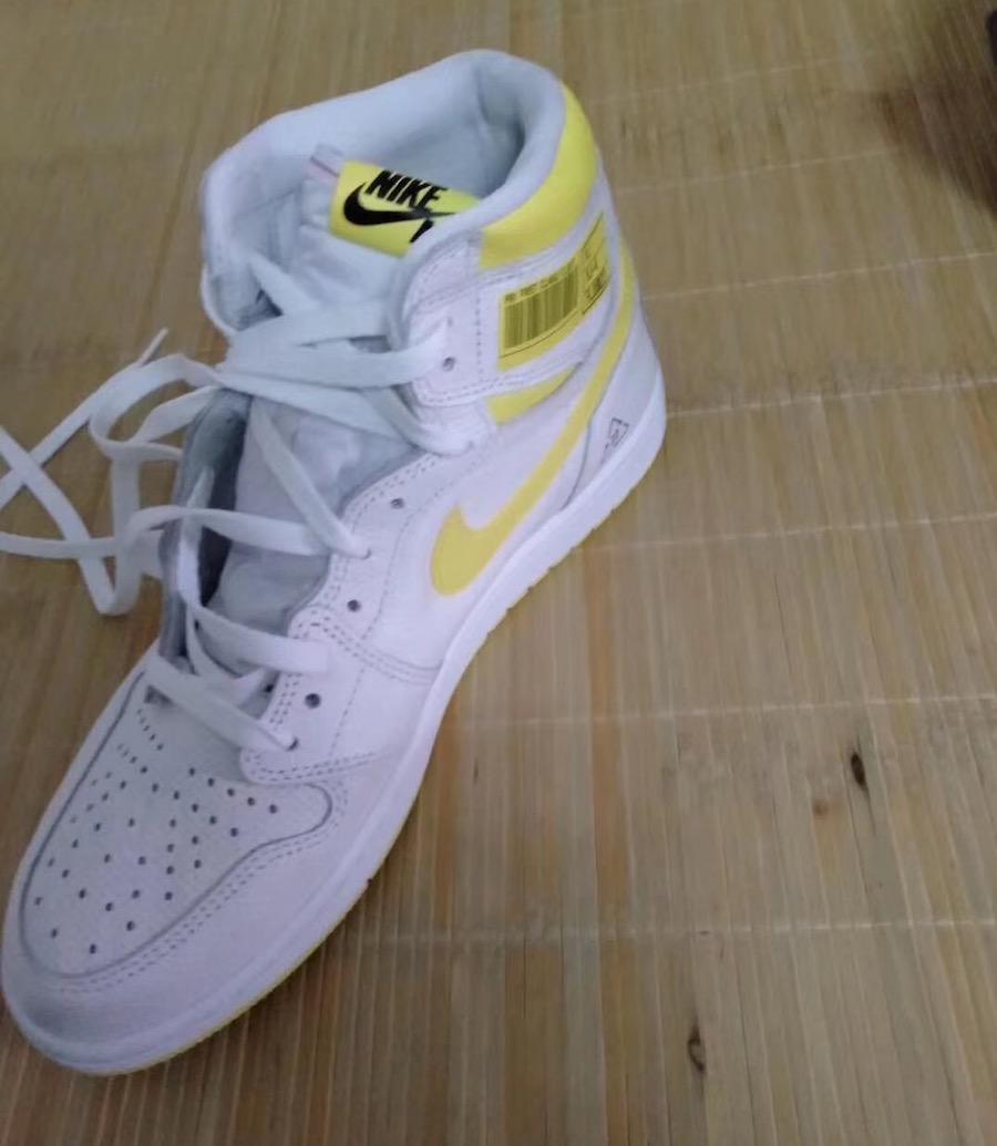 Air Jordan 1 Barcode White Yellow Release Info