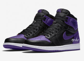 Air Jordan 1 Black Purple 2020 Release Info