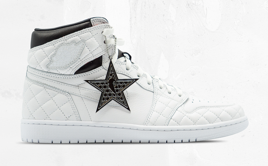 Air Jordan 1 Charlotte All-Star 300 Pairs Auction Release Info