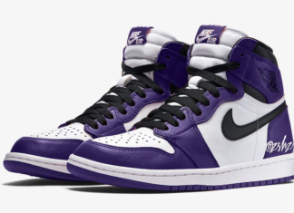 Air Jordan 1 Court Purple 555088-500 2020 Release Info