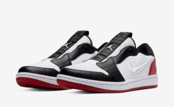 Air Jordan 1 Low Slip Black Toe AV3918-102 Release Info