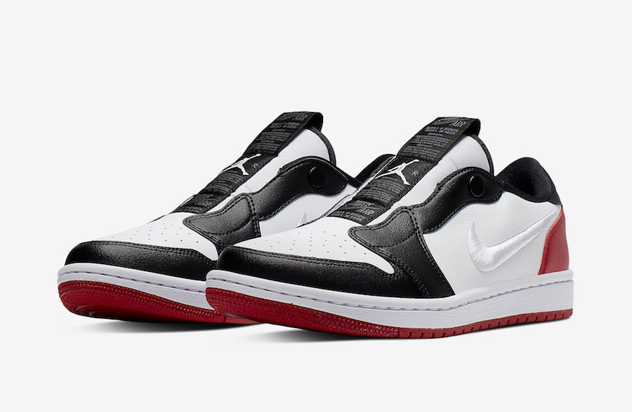 Air Jordan 1 Low Slip Black Toe AV3918-102 Release Info