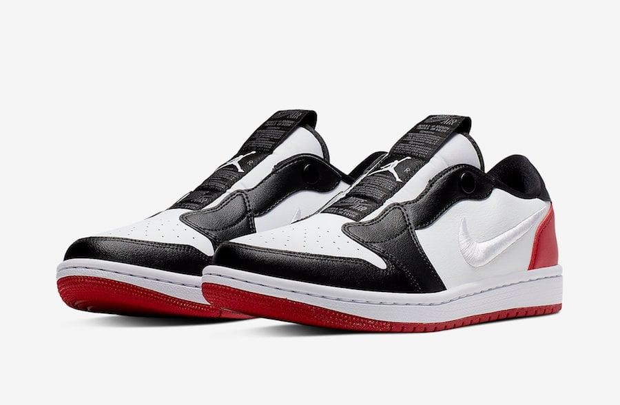 Air Jordan 1 Low Slip Black Toe AV3918-102 Release Info | SneakerFiles