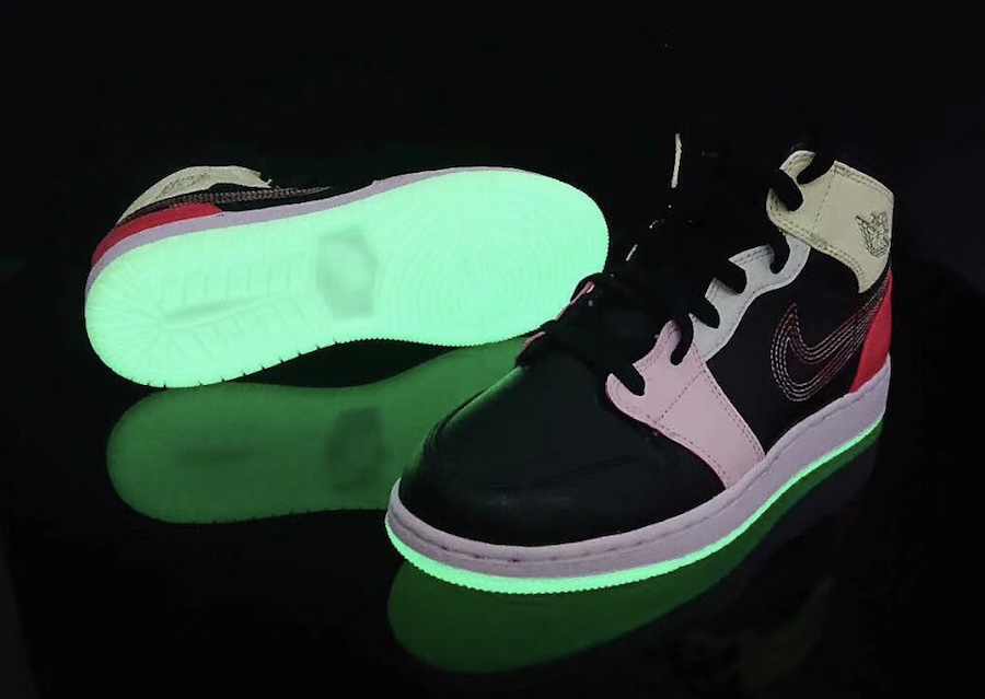 Air Jordan 1 Mid Glow in the Dark Release Info
