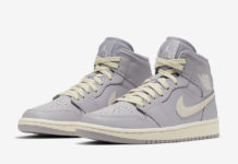 Air Jordan 1 Mid Grey Light Bone CD7240-002 Release Info