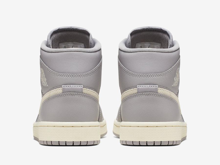 Air Jordan 1 Mid Grey Light Bone CD7240-002 Release Info