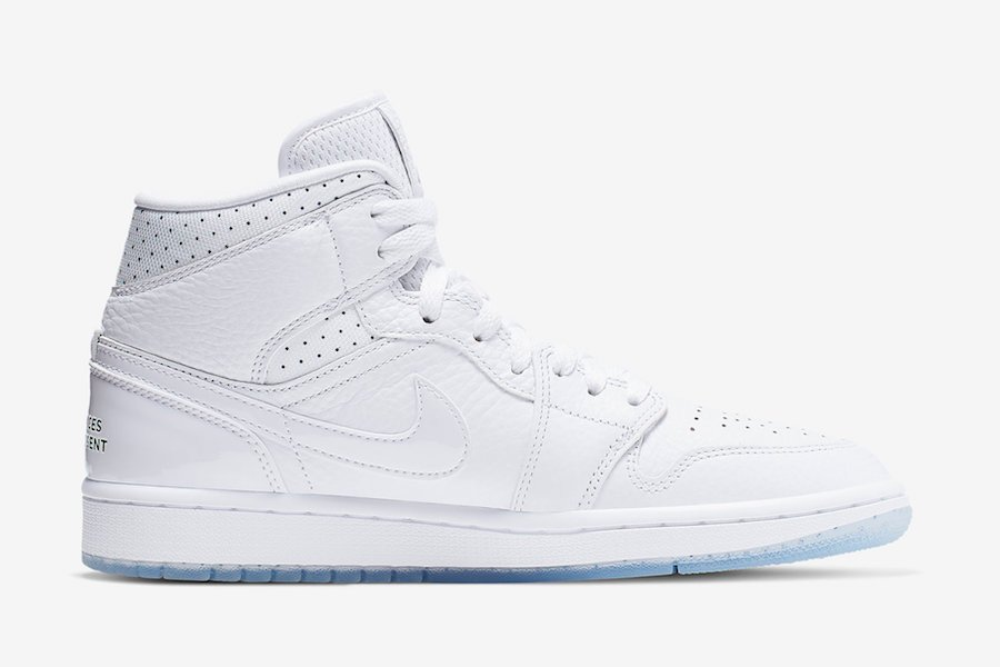 Air Jordan 1 Mid Nos Differences Nous Unissent CI9100-100 Release Info