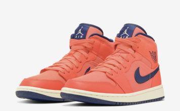 Air Jordan 1 Mid Turf Orange CD7240-804 Release Info