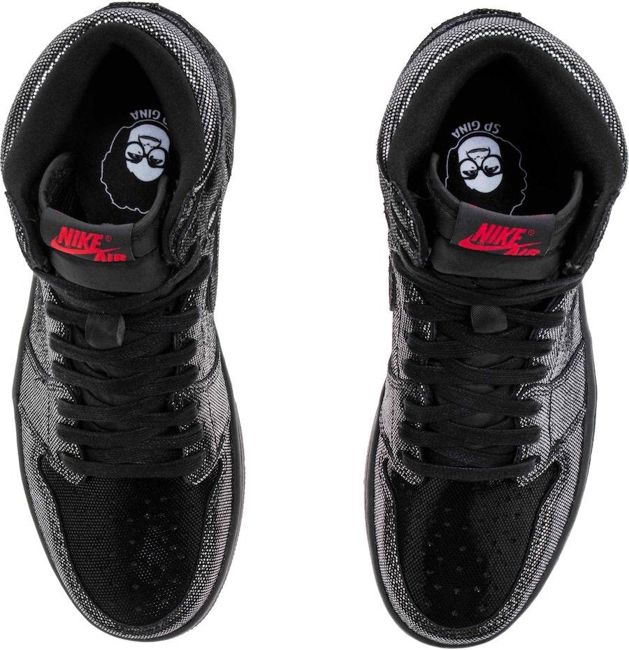 Air Jordan 1 SP Gina CD7071-001 Release Info Price