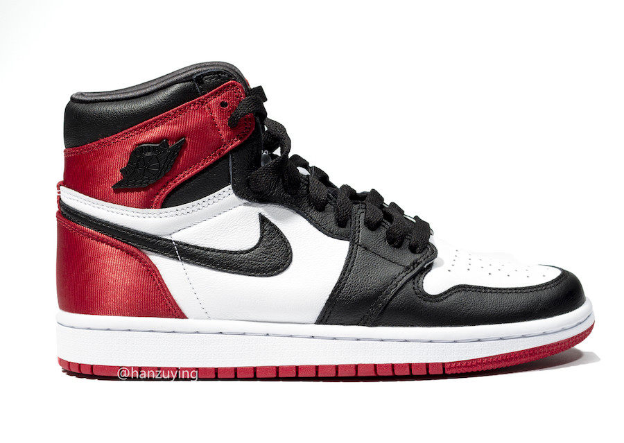 Air Jordan 1 WMNS Satin Black Toe CD0461-016 Release Information