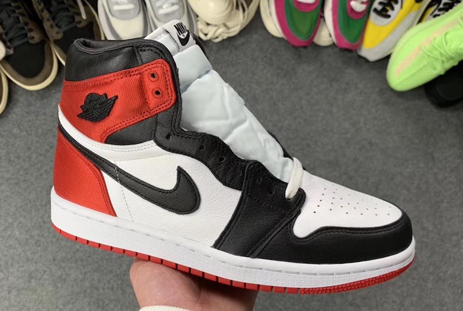 3d3e6a79513 Air Jordan 1 Satin Black Toe Women's CD0461-016 Release Details ...