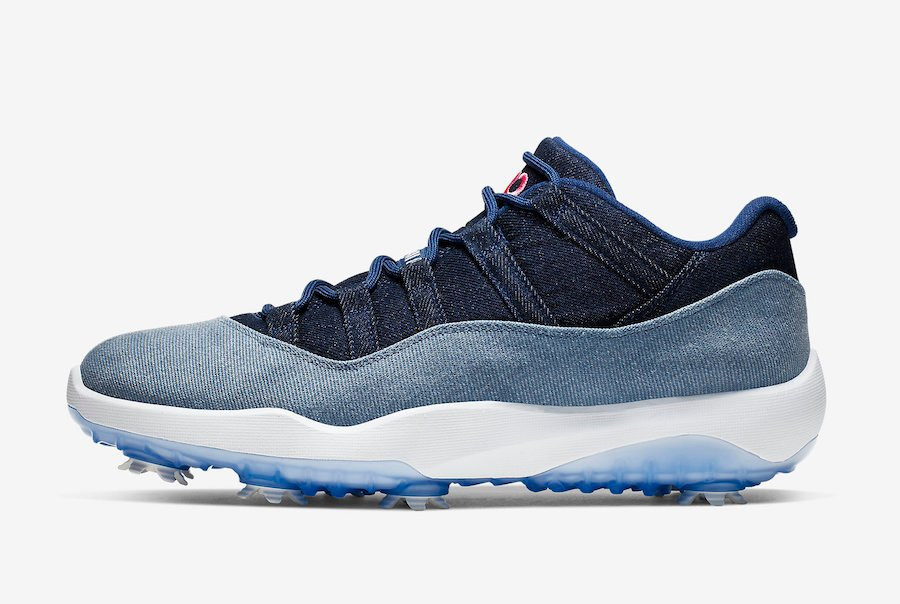 Air Jordan 11 Low Golf Denim AQ0963-400 Release Info
