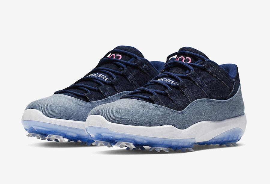 Air Jordan 11 Low Golf Denim AQ0963-400 Release Info | SneakerFiles