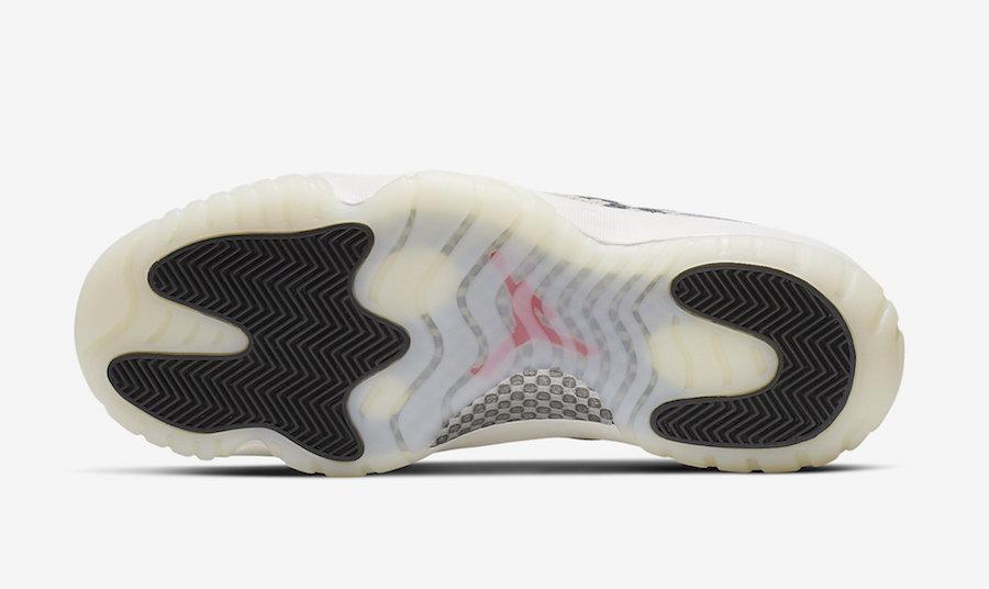 Air Jordan 11 Low Light Bone Snakeskin CD6846-002 Release Details