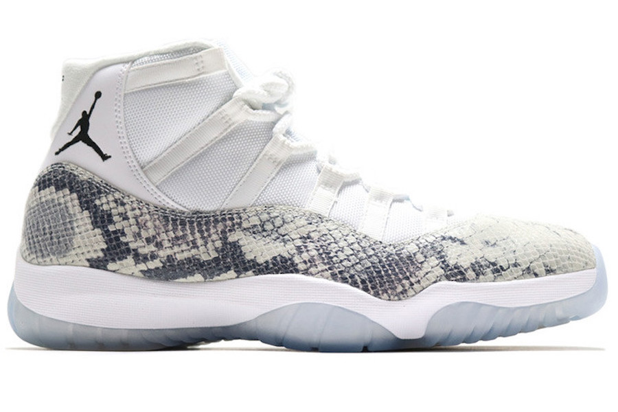 Air Jordan 11 Snakeskin Samples