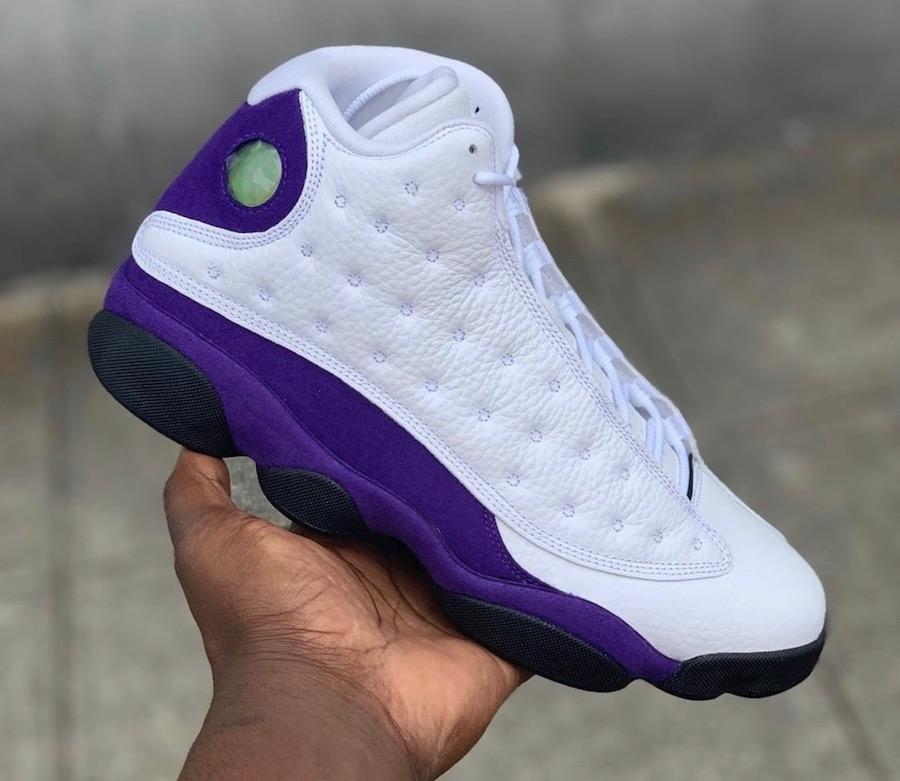Air Jordan 13 Lakers 414571-105 Release Details