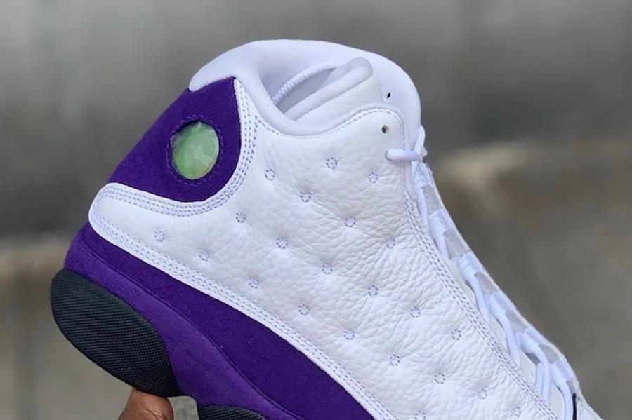 d2df4861cba Air Jordan 13 Lakers 414571-105 Release Date | SneakerFiles