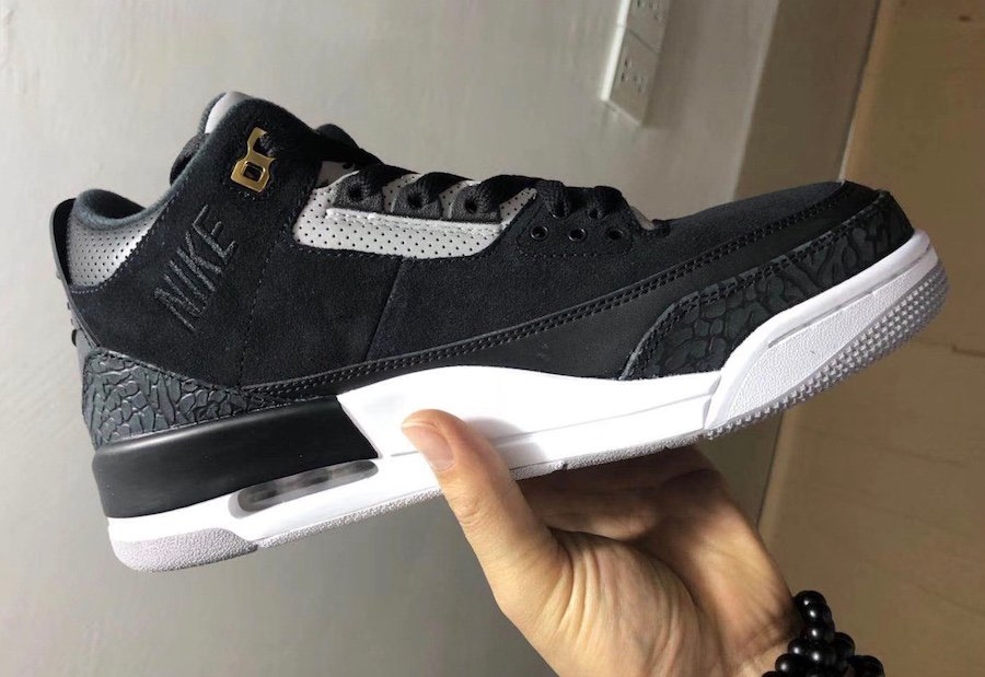Air Jordan 3 Tinker Black Cement Grey Metallic Gold CK4348-007 Release Info