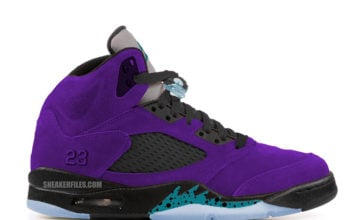 Air Jordan 5 Alternate Grape Ice Black Clear New Emerald 136027-500 Release Date
