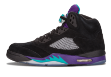 Air Jordan 5 Grape Ice Black 136027-500 2020 Release Info