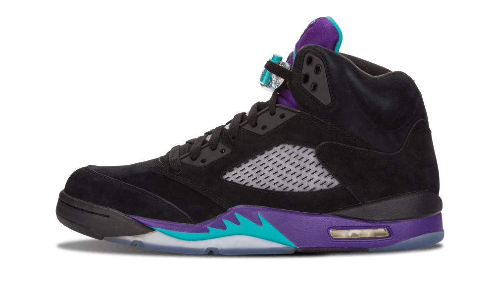 Air Jordan 5 Grape Ice Black 136027-500 2020 Release Info | SneakerFiles