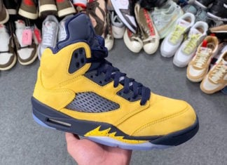 Air Jordan 5 Inspire Michigan CQ9541-704 Release Details