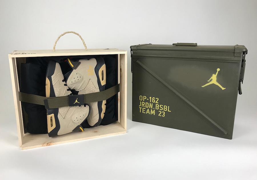 Air Jordan 6 MLB Baseball PE Pack