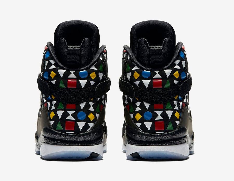 Air Jordan 8 Quai 54 CJ9218-001 Release Info