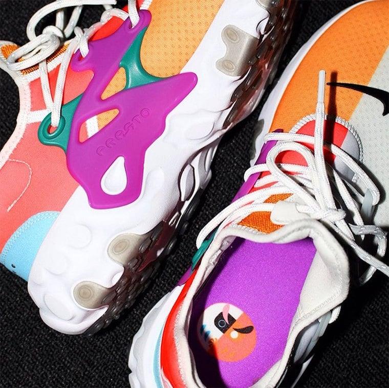 BEAMS Nike React Presto Release Info