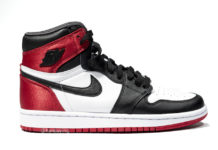 Black Toe Air Jordan 1 WMNS Satin CD0461-016 Release Date