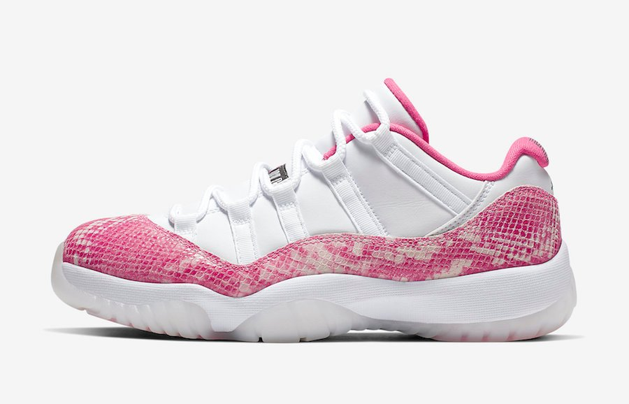 best service 219b5 d8303 Buy Air Jordan 11 Low Pink Snakeskin 2019 AH7860-106 Store List