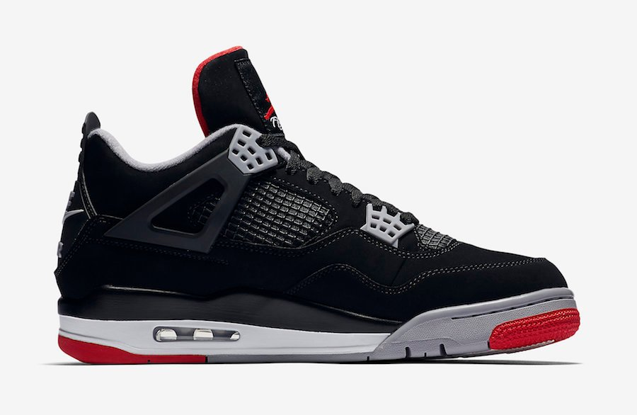 Buy Air Jordan 4 Bred 2019 308497-060 Store List