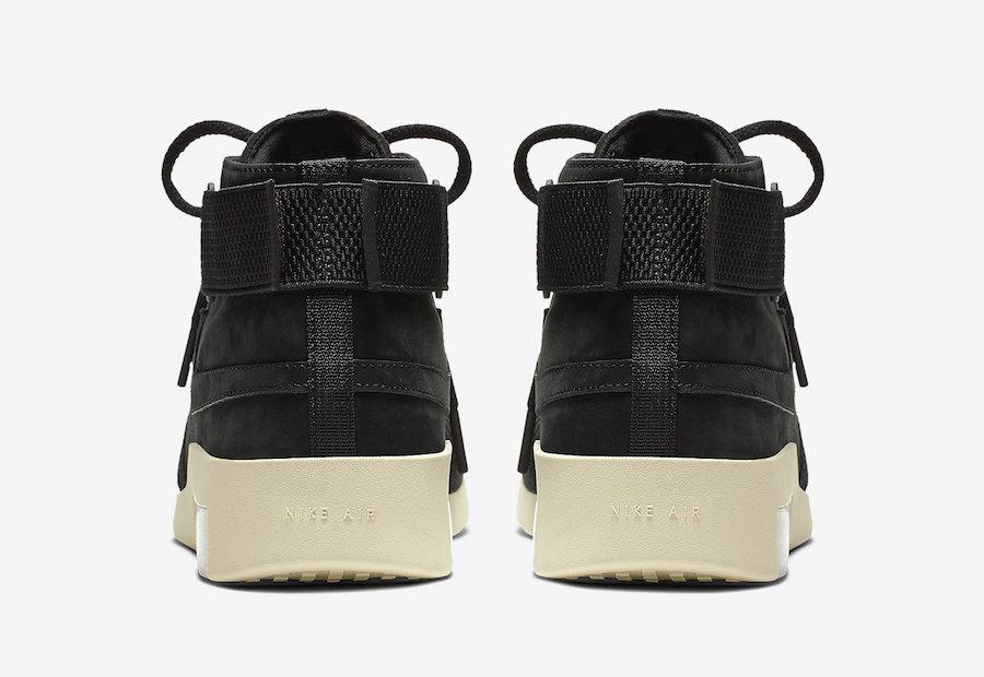 Buy Nike Air Fear of God Raid Black AT8087-002 Store List