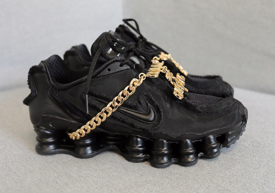 Comme des Garcons Nike Shox TL Triple Black Release Info